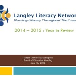 District Literacy Plan 2014-15 Review - Regular 2015Jun16_page1
