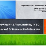 Sups Achievement Report - Improving K-12 Accountability in BC - Regular 2015Jun16_page1