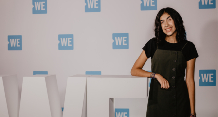 LFAS Student Joins Canadian 'WE Day' Tour