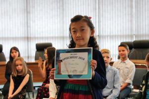 Primary Speechfest cert 04