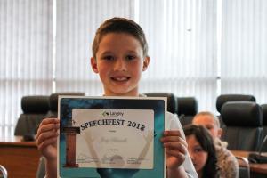Primary Speechfest cert 13