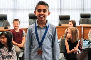 Primary Speechfest medal 01