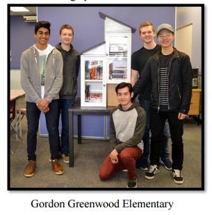 Little Free Library - Gordon Greenwood